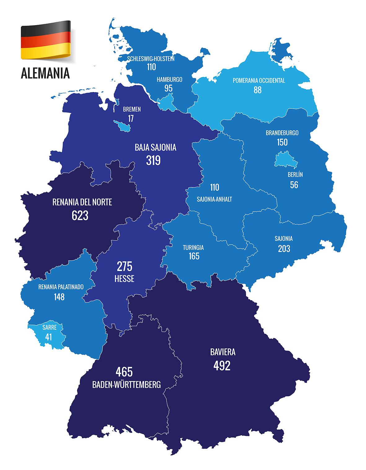 El Mapa De Alemania