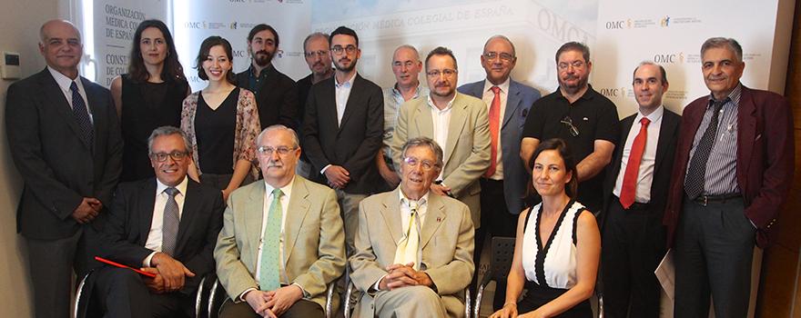 Foto de familia de los participantes en el proyecto