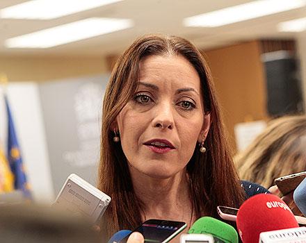Consejera de Políticas Sociales de la Comunidad de Madrid, Lola Moreno.