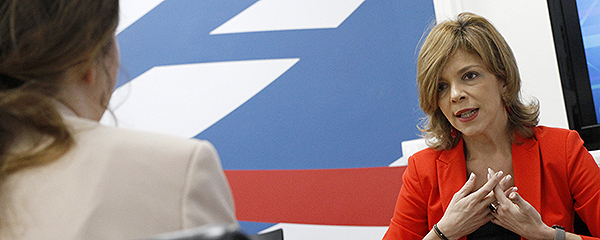 Marta Villanueva conversa con Redacción Médica.