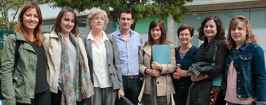 Equipo directivo del Hospital Infanta Sofía.