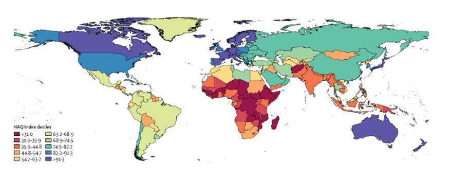 asaaaaaaaaaaaaars% - Sanidad en España: del puesto 10 al 19 en solo un año.