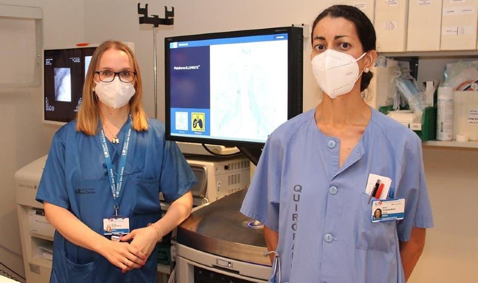 Miembros del equipo del Servicio de Neumología del Hospital Clínico San Carlos.