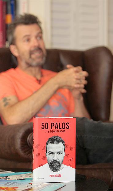 El proyecto '50 palos' incluye una gira, un disco nuevo y un libro.