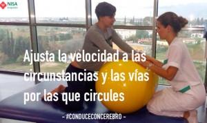#ConduceConCerebro, la nueva campaña de los pacientes de Hospitales Nisa