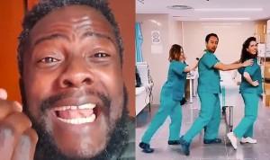 """""""Lo siento, pero los hospitales no son para grabar bailes y hacer TikTok"""""""