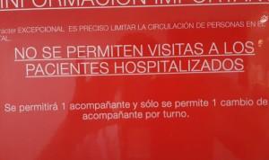 Coronavirus: primeras limitaciones a las visitas en hospitales españoles