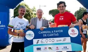 'Corre por la Vida' de HM Hospitales recauda 6.000 euros para Cáritas
