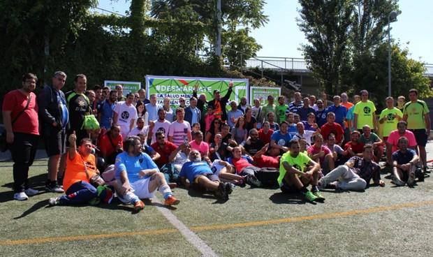 #Desmárcate, juega al fútbol para visibilizar los problemas salud mental