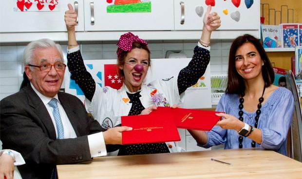 'Doctores sonrisa' para los niños ingresados en los hospitales de Madrid