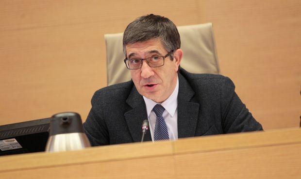 El cabreo de Patxi López en la Comisión de Sanidad