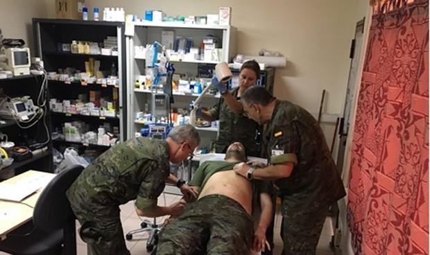 El Ejército se 'arma' de botiquines
