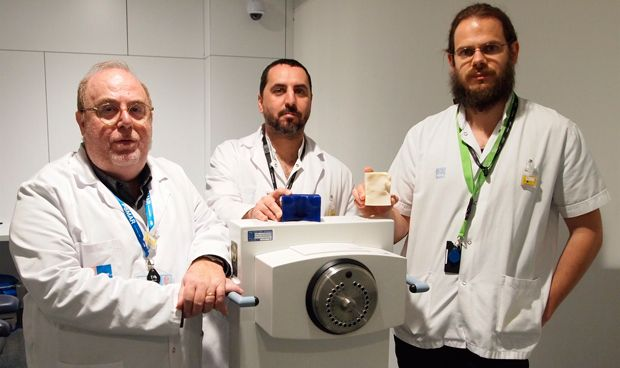 El Hospital del Mar, pionero en Espa�a en tratar el c�ncer de piel con 3D