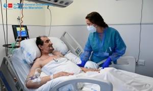 """""""El Marañón me ha salvado dos veces la vida: de un infarto y del Covid"""""""