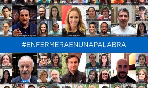 #EnfermeraEnUnaPalabra para visibilizar su relación con los pacientes