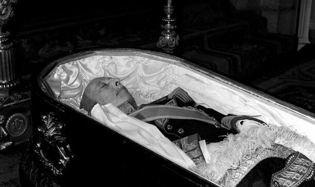 """""""Franco tenía aspecto de haber sufrido una agonía muy dura"""""""