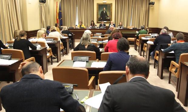 La Comisión de Sanidad del Congreso durante la última sesión celebrada