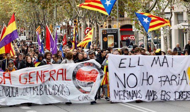 """""""Nulo seguimiento"""" de los sanitarios catalanes a la huelga"""