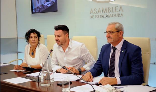 Pedro Blas Vadillo, presidente de la Comisión de Sanidad de Extremadura