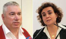 'Reunión de pasillo' de las víctimas de la talidomida con Montserrat
