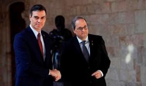 """""""Sí"""" de Sánchez a cooperar por la mejora de la sanidad catalana en los PGE"""