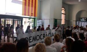 ¿Son ilegales las manifestaciones secesionistas del Clínic?
