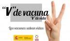 """""""V"""" de vacuna: la campaña de Sanidad para concienciar sobre sus beneficios"""