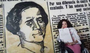 """Virginia Felipe: """"No puede ser que el Senado no sea plenamente accesible"""""""