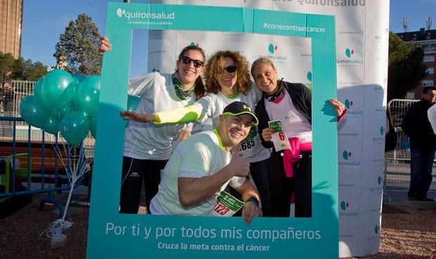 10.000 personas participan en la III marcha contra el cáncer de Quirónsalud