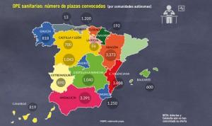 19.031 plazas sanitarias esperan fecha para su OPE