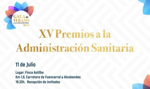 20 altos cargos optan a los XV Premios a la Administración Sanitaria