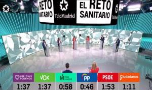 4M: vacunación prioritaria, único 'acuerdo' del debate electoral de bandos