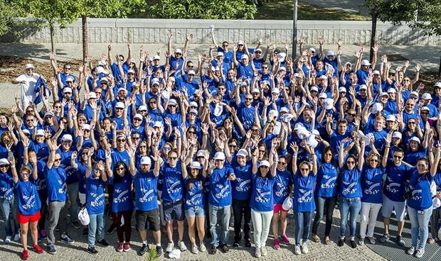 600 empleados de Roche colaboran en una marcha solidaria