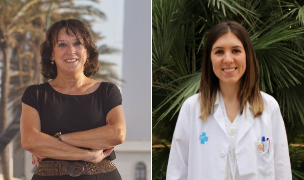 """#8M   Las médicas jóvenes, a las veteranas: """"Por vosotras estamos aquí"""""""