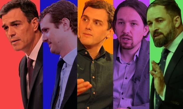 ENCUESTA| Abascal e Iglesias, ganadores en sanidad del debate electoral
