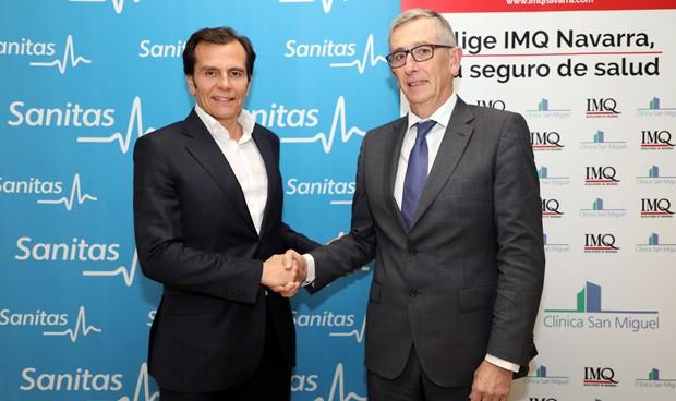 Acuerdo de Sanitas en Navarra para extender sus seguros de salud