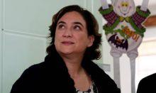 Ada Colau da las gracias a la sanidad pública catalana