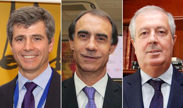 Adolfo Fernández-Valmayor, César Antón y Luis Mayero