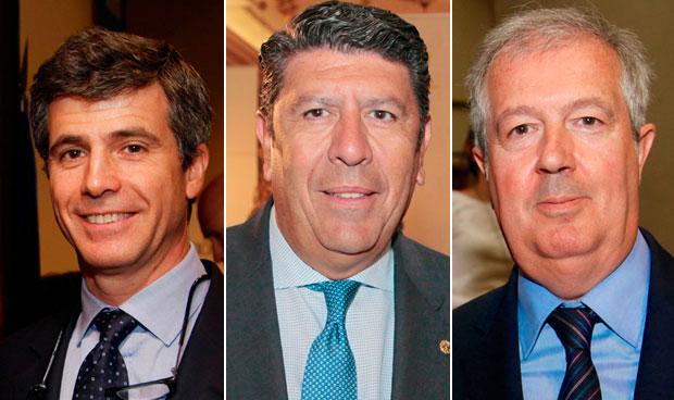Adolfo Fernández-Valmayor, Manuel Vilches y Luis Mayero