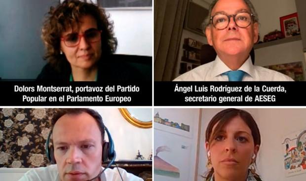 Aeseg analiza con Dolors Montserrat el nuevo plan farmacéutico europeo
