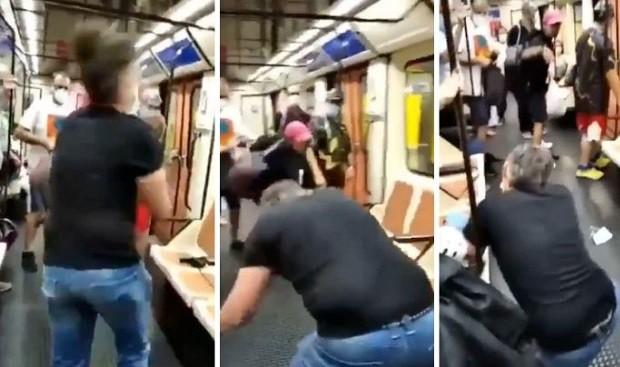 """Agresión a un sanitario en el metro de Madrid: """"Gilipollas, muérete"""""""