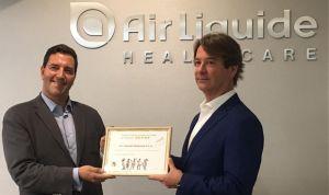 Air Liquide humaniza la hospitalización a través de la Fundación Theodora