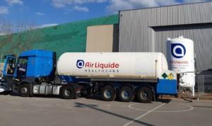 Air Liquide suministra el oxígeno medicinal del hospital de campaña de Vic