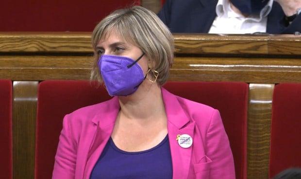 Alba Vergés, vicepresidenta primera de la Mesa del Parlament