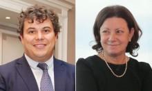 Alberto Martínez y Leticia Moral