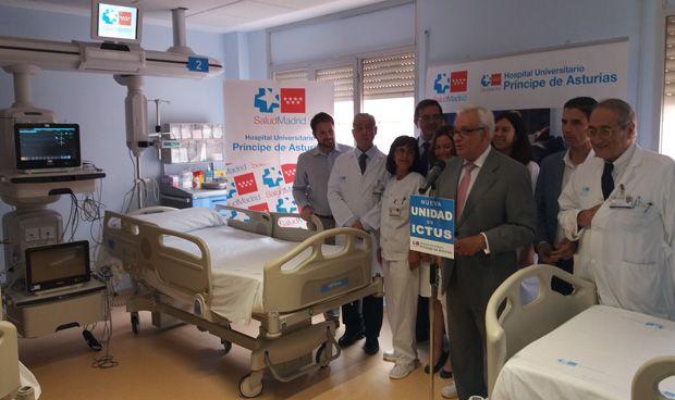 Alcalá estrena su unidad de ictus 2 semanas antes de la fecha comprometida