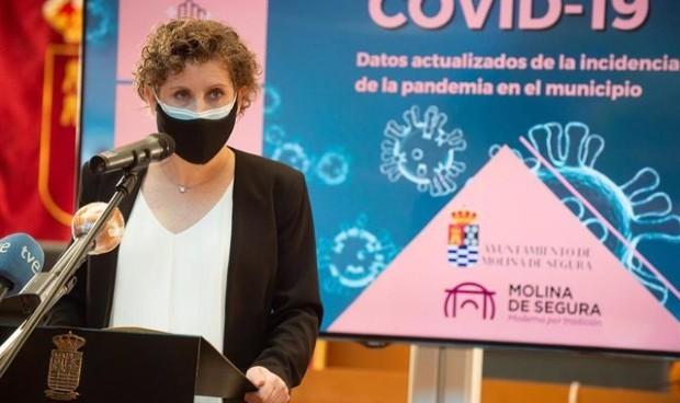 La alcaldesa de Molina de Segura dimite tras vacunarse del Covid-19