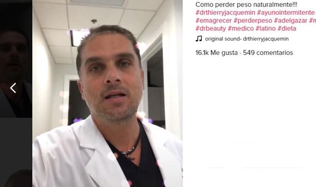 """Alerta en TikTok por un médico que afirma que ayunar """"revierte la diabetes"""""""