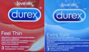 Alerta sanitaria por la aparición de condones serbios falsificados de Durex