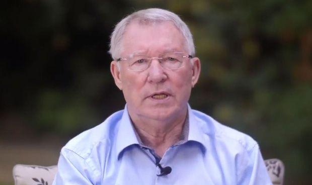 Alex Ferguson agradece en un vídeo que los médicos le salvaran la vida